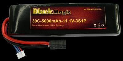BM 5000mAh 3S1P 11.1 V 30C
