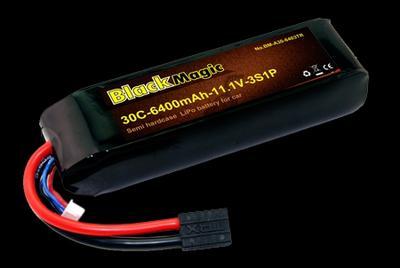 BM 6400mAh 3S1P 11.1 V 30C
