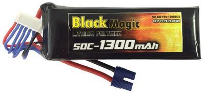 BM 1300mAh 6S1P 22.2 V  50C