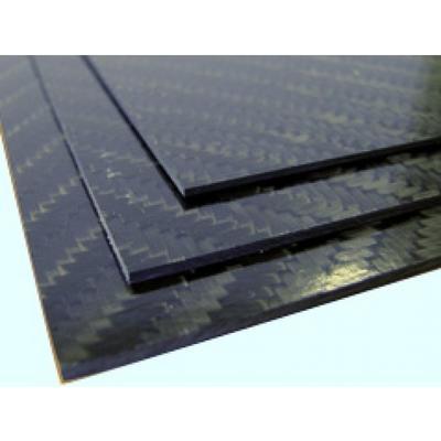 CFK-Platte, 2.5x340x150
