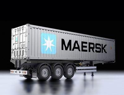 40-fuß Container-Auflieger, Maersk