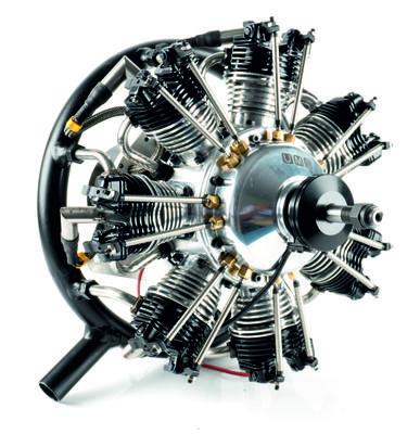 UMS 7 Zylinder 50ccm, Benzin