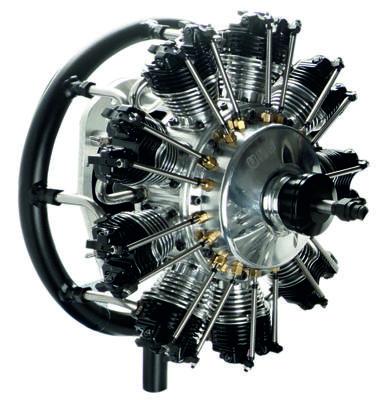 UMS 9 Zylinder 115ccm, Benzin