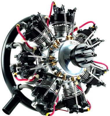 UMS 7 Zylinder 160ccm, Benzin