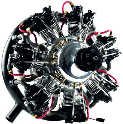 UMS 7 Zylinder 260ccm, Benzin