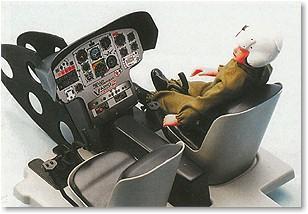 Cockpit Jet Ranger III 1800 mm