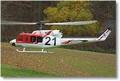 Rumpfbausatz Bell 212, Turbine