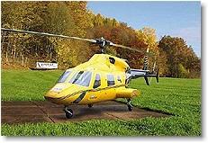 Rumpfbausatz Bell 230, Turbine