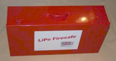 LiPo-Firesafe Typ 03, 620x340x160 rot